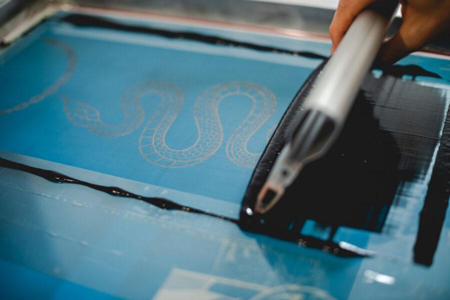 serigrafia tessile